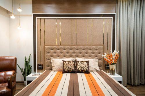 Bedroom For Mr. Nilesh Gulunchkar at Pune.