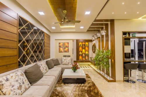 Living Room for Mr. Pareekh at Pune.